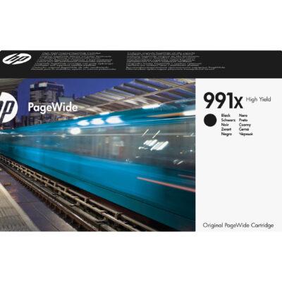 HP 991X Black Original Blækpatron 20.000 Sider HP PageWide Managed Color P 77740 | InkNu 2
