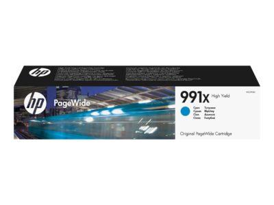 HP 991X Cyan Original Blækpatron 16.000 Sider HP PageWide Managed Color P 77740   InkNu