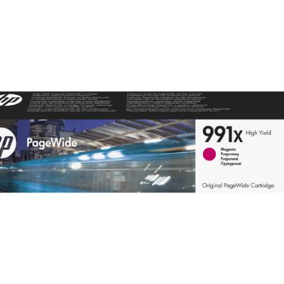 HP 991X Magenta Original Blækpatron 16.000 Sider HP PageWide Managed Color P 77740 | InkNu 2