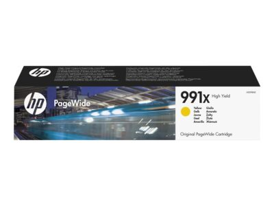 HP 991X Yellow Original Blækpatron 16.000 Sider HP PageWide Managed Color P 77740 | InkNu